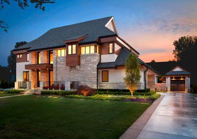Modern new build home